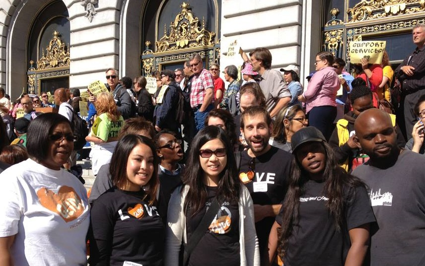 151005 Advocacy at City Hall 2014 -- Lillian Mark